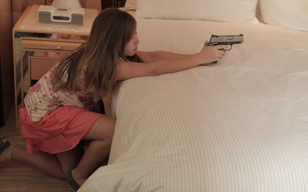 child defensive gun use