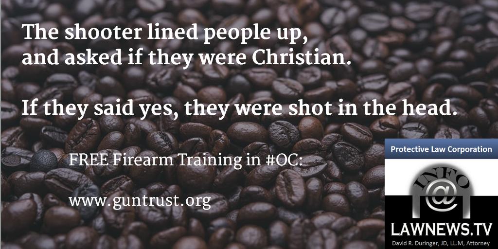 Shooter asks Christian