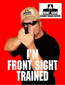 front sight trained