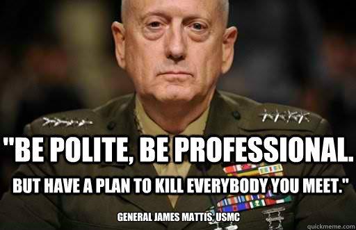 Mad Dog Mattis