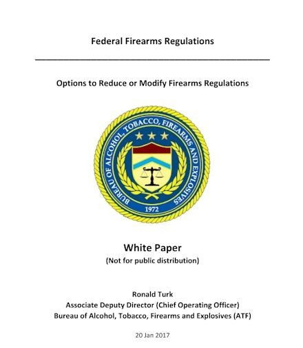 ATF white paper by Ronald Turk